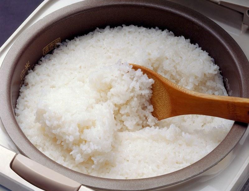 riso al vapore nella risottiera