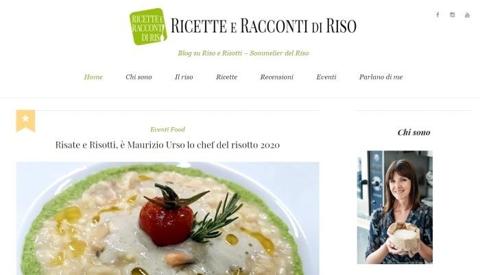 Ricette e racconti di riso