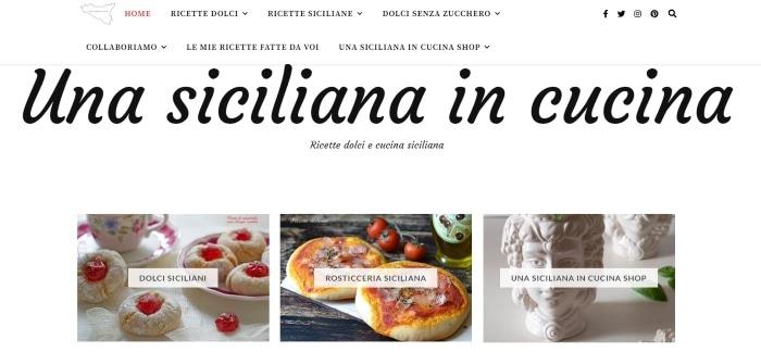 Una siciliana in cucina
