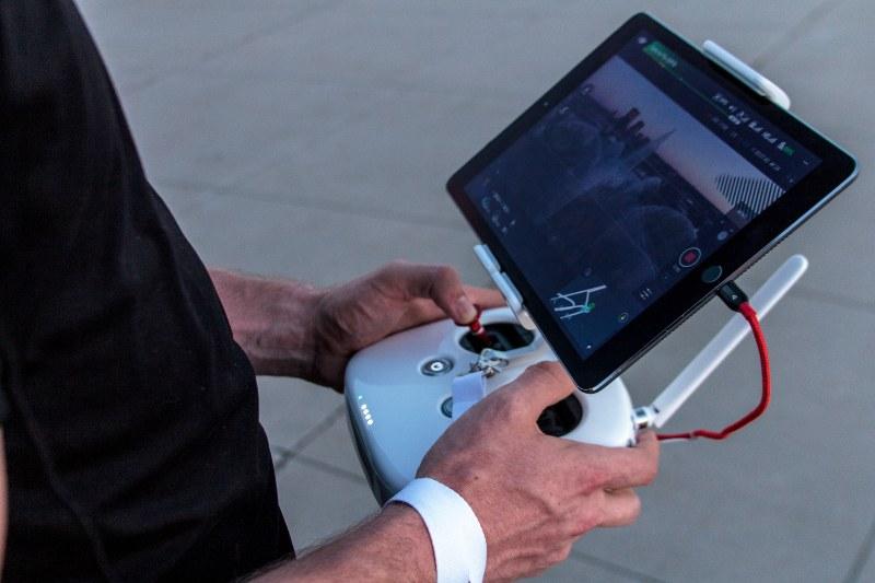 control di droni