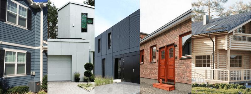 house exterior materials
