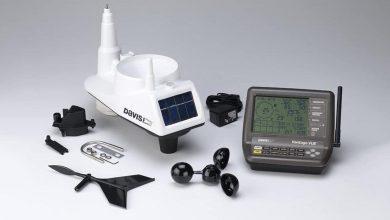 home weather station setup